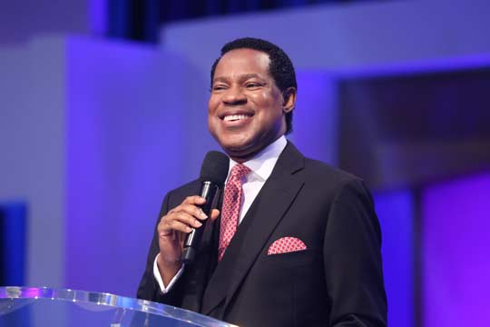 "You Have A Lot Of Faith!"" Pastor Chris lauds congregation"