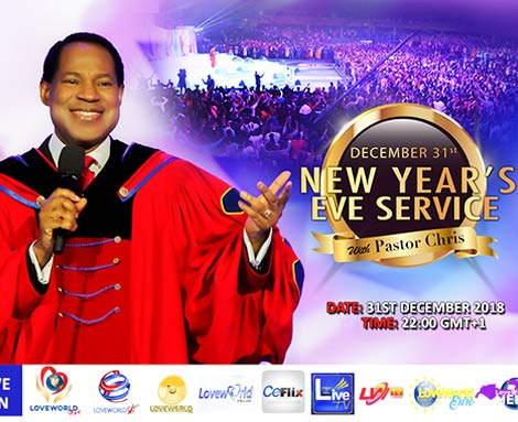 31ST DECEMBER NEW YEAR EVE GLOBAL SERVICE WITH PASTOR CHRIS