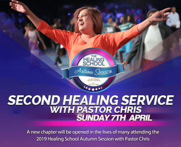 SECOND HEALING SERVICE AUTUMN SESSION 2019 WITH PASTOR CHRIS JOHANNESBURG SOUTH AFRICA