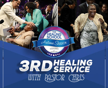 THIRD HEALING SERVICE AUTUMN SESSION 2019 WITH PASTOR CHRIS JOHANNESBURG SOUTH AFRICA