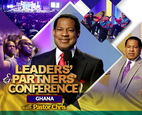 LEADERS' AND PARTNERS' CONFERENCE GHANA 2018 WITH PASTOR CHRIS