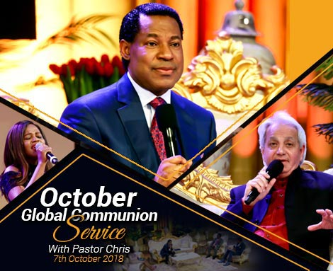 OCTOBER 2018 GLOBAL SERVICE WITH PASTOR CHRIS