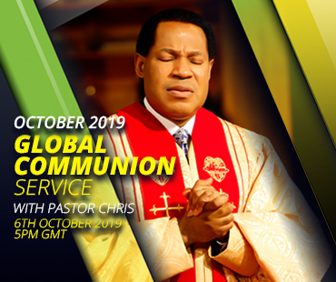 OCTOBER 2019 GLOBAL COMMUNION SERVICE WITH PASTOR CHRIS