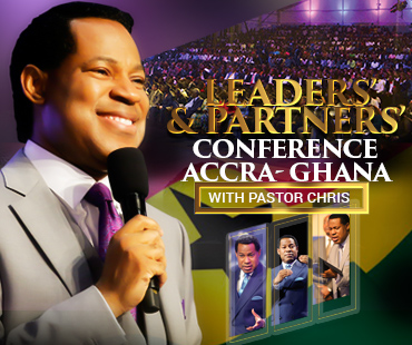 LEADERS' AND PARTNERS' CONFERENCE GHANA 2019 WITH PASTOR CHRIS