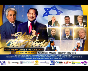 YOUR LOVEWORLD PRAISE-A-THON LIVE FROM ISRAEL AND USA