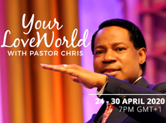 YOUR LOVEWORLD LIVE BROADCAST 24TH-30TH