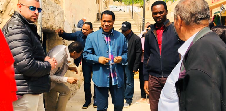 Holy Land Tour with Pastor Chris 2018