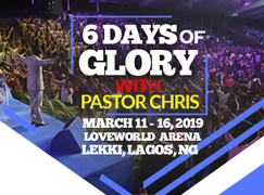 6DAYS OF GLORY WITH PASTOR CHRIS