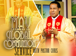 May 2019 Global Communion Service with Pastor Chris