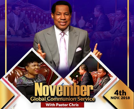 NOVEMBER GLOBAL COMMUNION SERVICE WITH PASTOR CHRIS