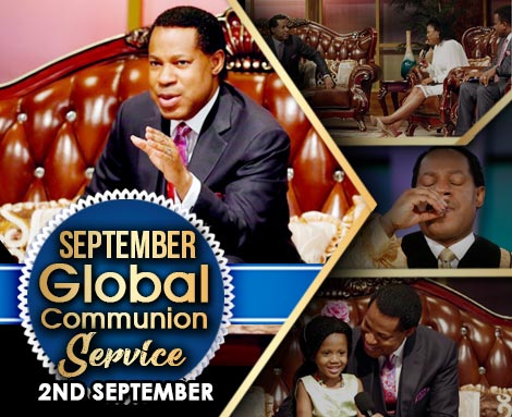 SEPTEMBER 2018 GLOBAL COMMUNION SERVICE WITH PASTOR CHRIS