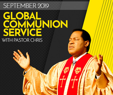 SEPTEMBER 2019 GLOBAL COMMUNION SERVICE WITH PASTOR CHRIS